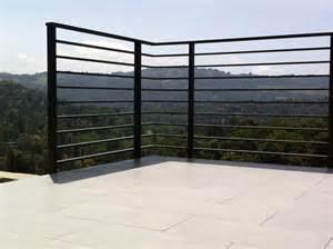 Glass Patio Railing Systems Deck Rail Modern Deck Railing Systems