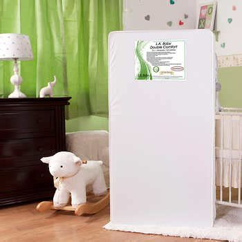 L A Baby Comfort 2 In 1 Orthopedic Crib Mattress L A Baby Double Comfort 2 In 1 Orthopedic Crib Mattress