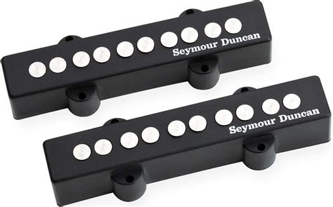 Duncan Five by Seymour Duncan Sj5 3s Quarter Pound 5 String J Bass Bridge