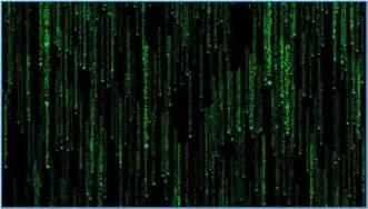 The matrix code animated screensaver   Download free