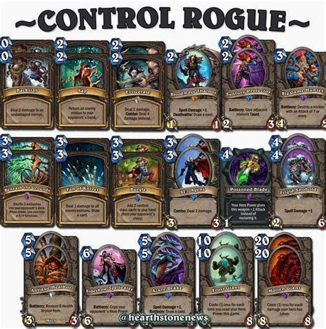 best decks hearthstone 17 best ideas about rogue deck hearthstone on