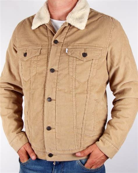Jaket Levis Jaket Levis levis corduroy sherpa trucker jacket chino s coat