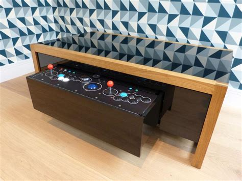 coffee table arcade retro arcade coffee table coffee table design ideas