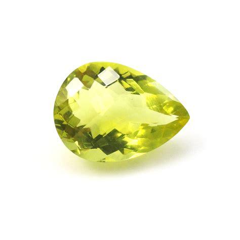 lemon quartz lemon quartz pear shape 18x13mm approximately9 carat buy