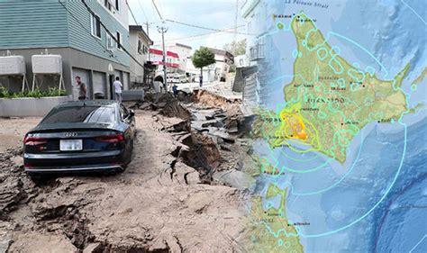 Japan Aftershock japan earthquake where did hokkaido earthquake hit