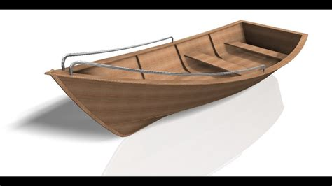 small boat sketch autodesk inventor part ii design of a small boat youtube