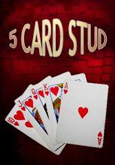 card stud poker guide play  card stud poker