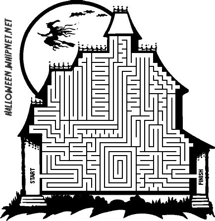 halloween coloring pages mazes printable halloween maze coloring pages coloring