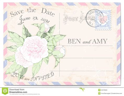time frame for mailing out wedding invitations postage st with frame royalty free stock image