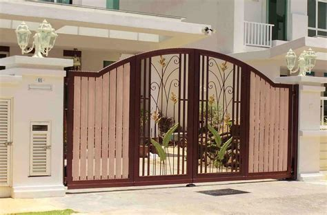 modern gate pillar design also house catalogue ideas
