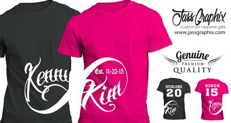 Customized Matching T Shirts For Couples Infinity Shirt Www Imgkid The Image Kid Has It