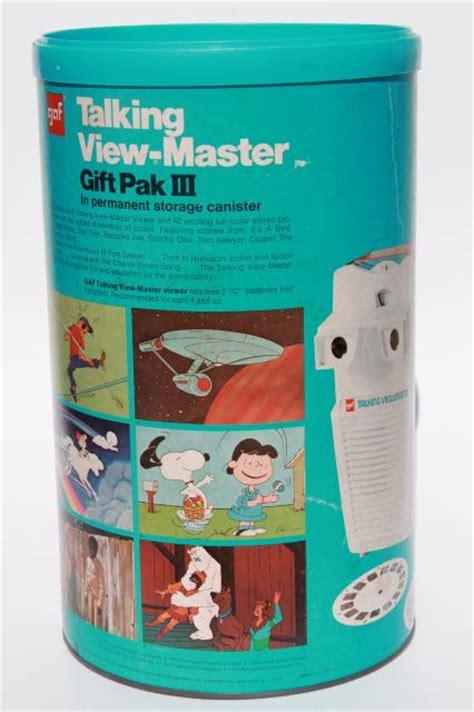 vintage talking viewmaster w/ reels, Pooh, Bambi, Snoopy