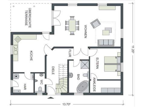 schlafzimmer grundrisse grundriss einfamilienhaus schlafzimmer im erdgeschoss