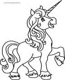 unicorn pictures to color free coloring pages of princess on unicorn