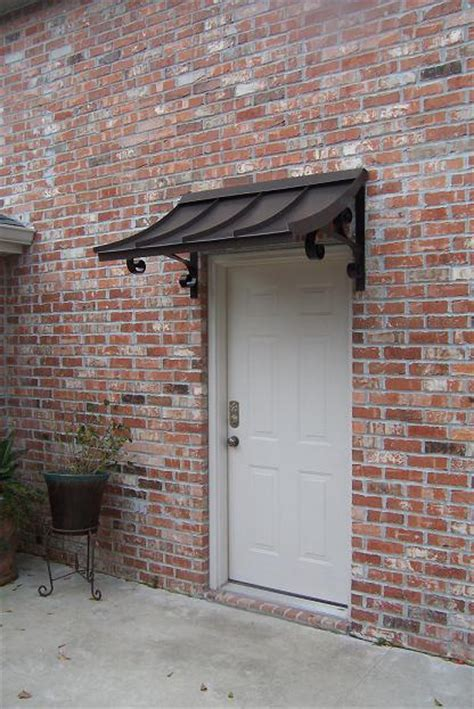 Awnings Metal by Wooden Door Canopy Designs Studio Design Gallery