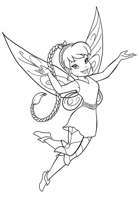 free coloring pages of fawn pixie hollow