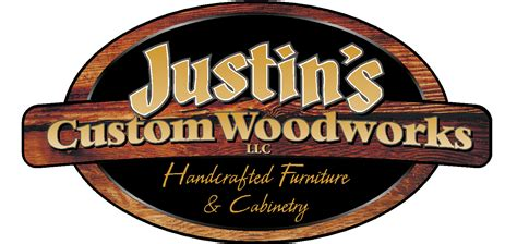 woodworks logo justin s custom woodworks llc