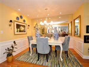 Yellow Dining Room Table Yellow And White Dining Room Alliancemv Com