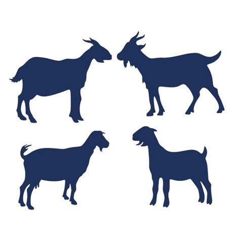 goat pack svg cuttable design animals animal