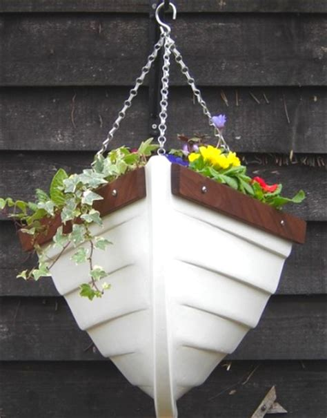 Nautical Planters by April 2016 Fishing Sailboat Plans