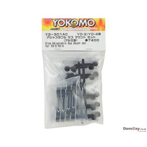 Yokomo Aluminum Adjustable Mount Set For Bd7 Black Bd Abm6b Yokomo Yd 2 Aluminum Adjustable Suspension Mount Set Black