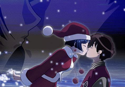 cartoon kissing wallpaper desktop animated christmas kissing a boy hd wallpaper 19610
