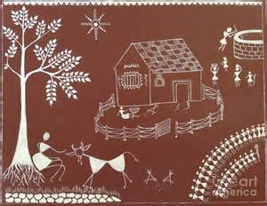 House Plans App warli painting painting by prachart