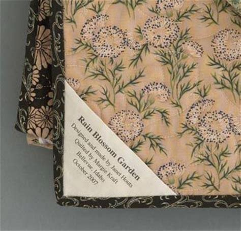 Printing Quilt Labels On Fabric by 168 Best Quilt Labels Images On