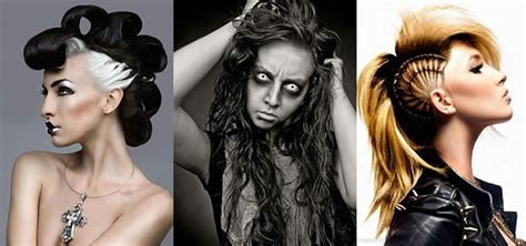 hairstyles for short hair for halloween 22 spooky and crazy hairstyles for halloween