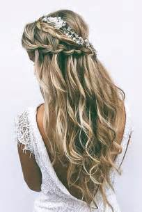 half up half down prom hairstyles for long hair rachael