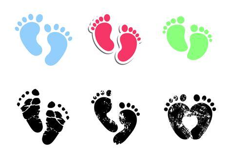 Baby Boy Footprint baby footprints vector free vector stock