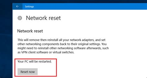 network reset on computer دليل إرشادي لحل مشاكل الواي فاي في ويندوز 10 5 خطوات
