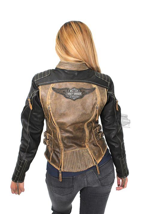 Vest Hoodie Harley Davidson Motor Co Pzbv Harleydavidson Womens Solstice 3in1 Black Leather Jacket