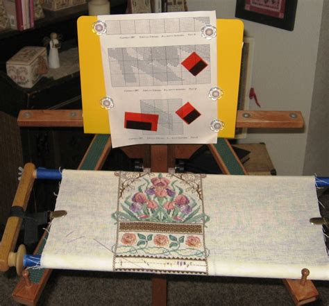 needlework pattern holder just a thought from judy odell 187 august give away on