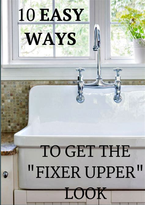 get on fixer upper 10 inexpensive ways to decorate and get the fixer upper