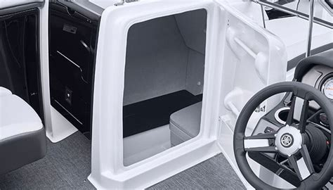 yamaha boats with bathroom yamaha boats sx240 2018 black head compartment storage