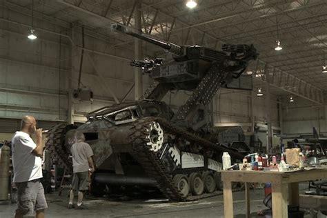 g i joe building a real h i s s tank the radar