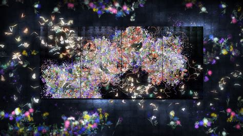 designboom teamlab teamlab sends a flutter of butterflies beyond borders into