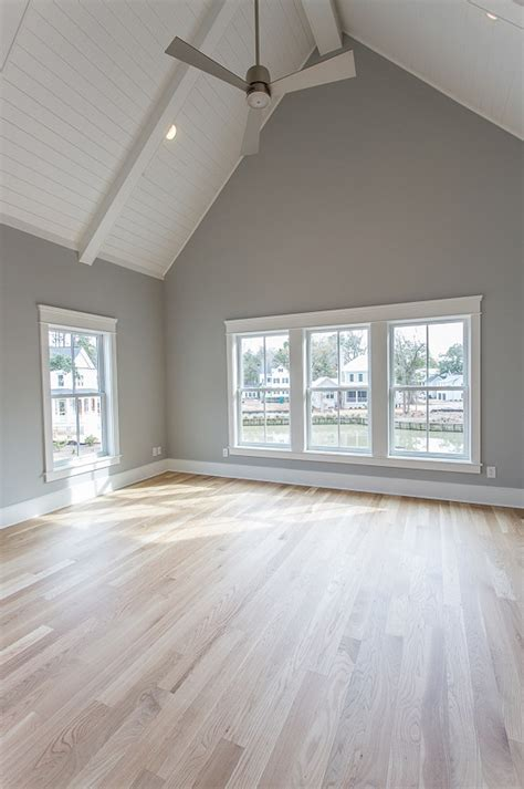 grey walls love the floor light french gray by sherwin williams