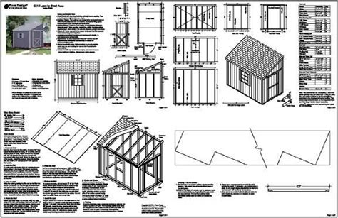 now eol plans for lean to shed free details about 6 x10 slant lean to style shed plans see