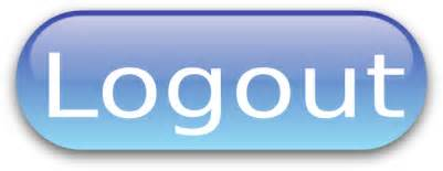 Logout button blue clip art at clker com vector clip art online