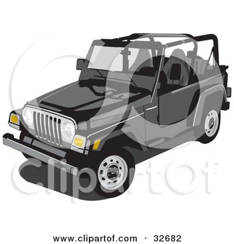 convertible jeep black royalty free stock illustrations of convertibles by david