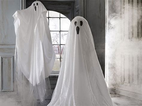ghost decorations party theme spooky pinterest