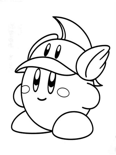 Kirby Coloring Pages by Kirby Coloring Pages Free Printable Kirby Coloring Pages