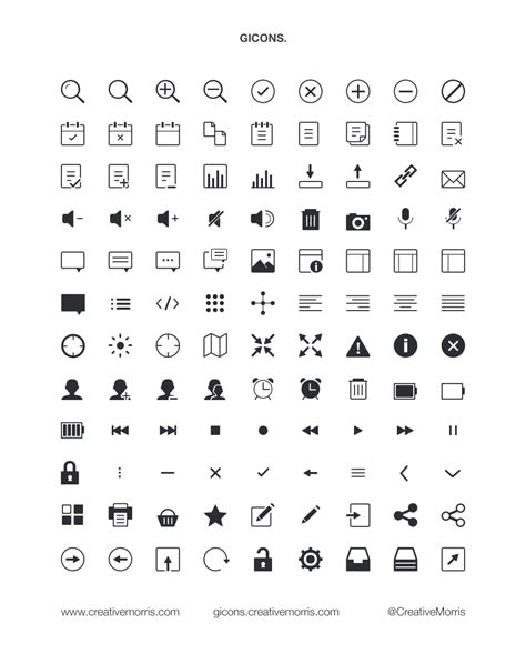 gicons free vector icons icons fribly