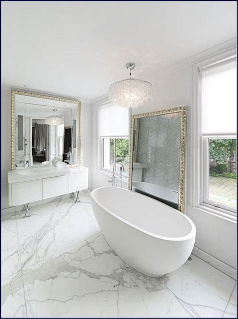 Modern White Bathrooms by Marble Bathroom With Awesome Design Ideas Home Decor