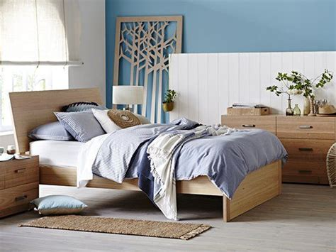 My Design Bed Frame Inclined Headboard Full Panel Base Inclined Bed Frame