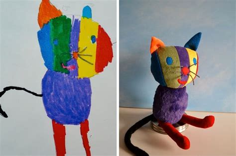 artist  kids drawings  adorable cuddly toys