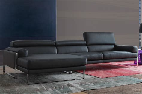 italiana divani calia sofa sofa set in leather upholstery with sch capito