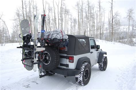 Ski Rack For Jeep Wrangler Jk Ski Mobile